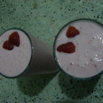 Quick fix: Strawberry Banana Smoothie