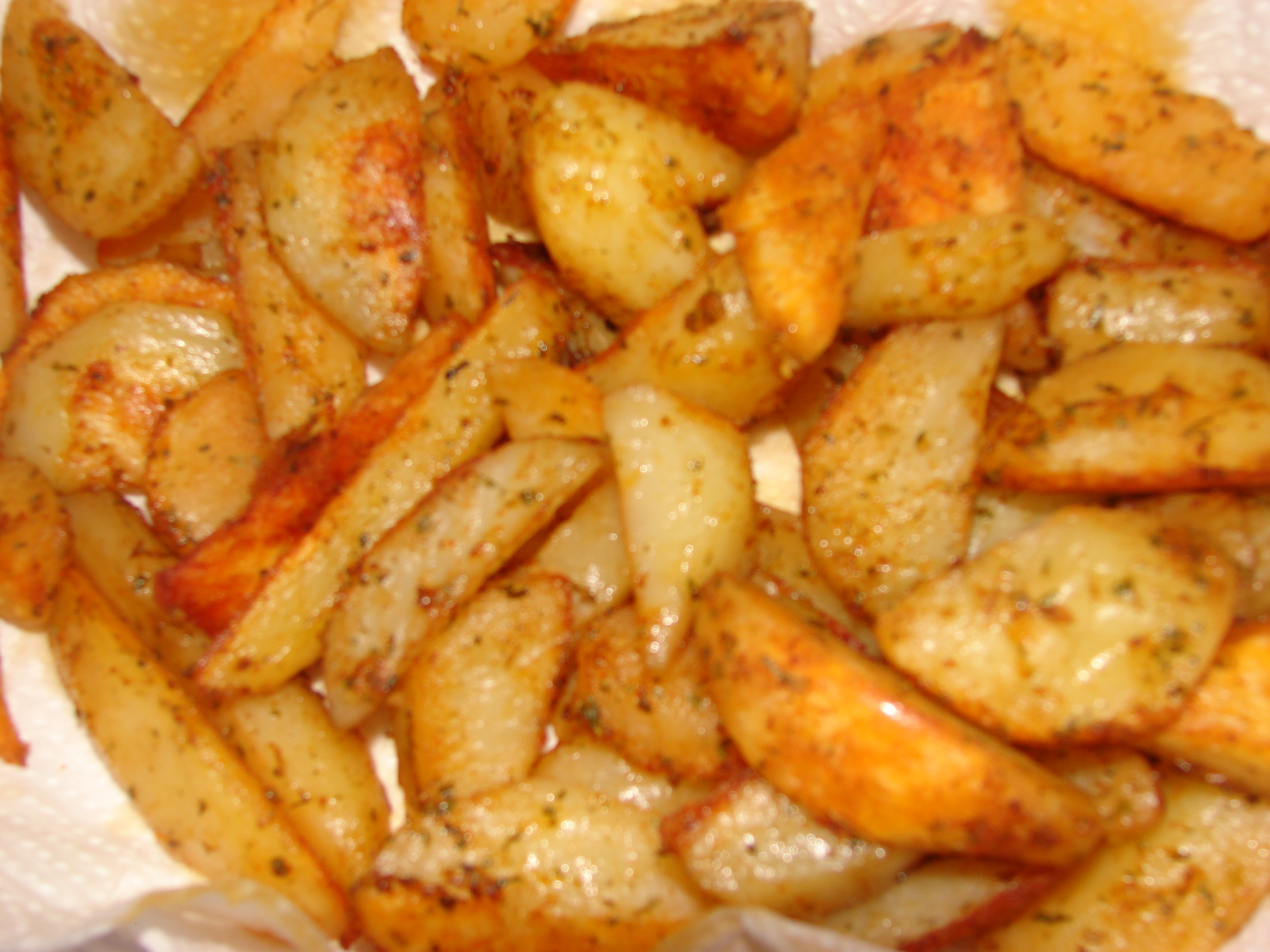 Voila! Spicy potatoes.