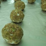 Cheese and Onion Meatballs