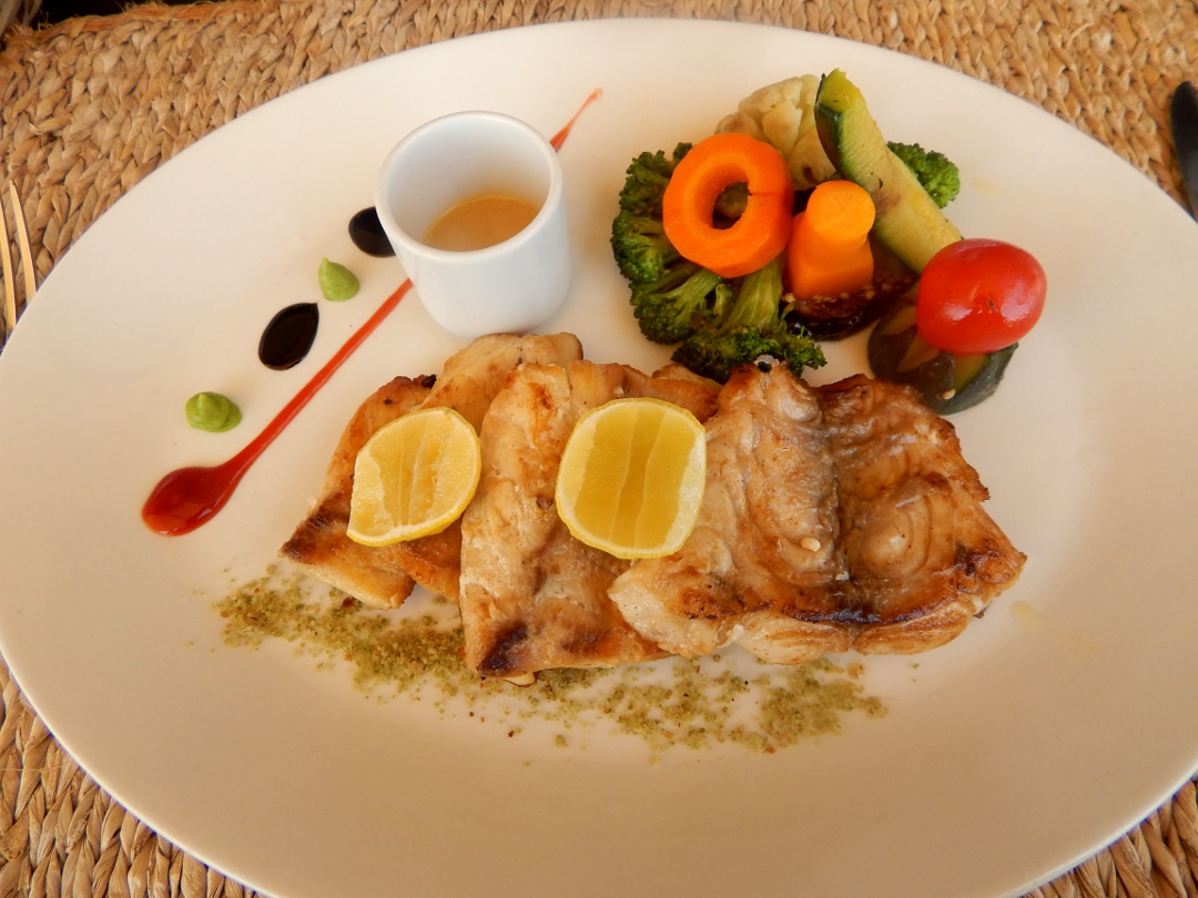 grilled snapper