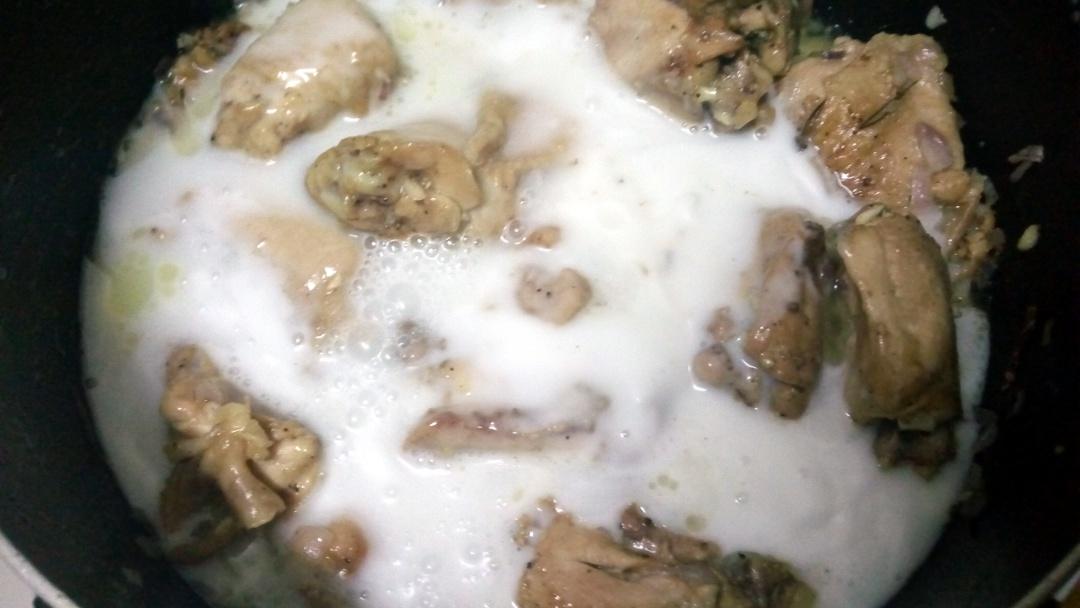 coconut chicken curry leotunapika