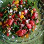 Onja: Rainbow Watermelon Salsa