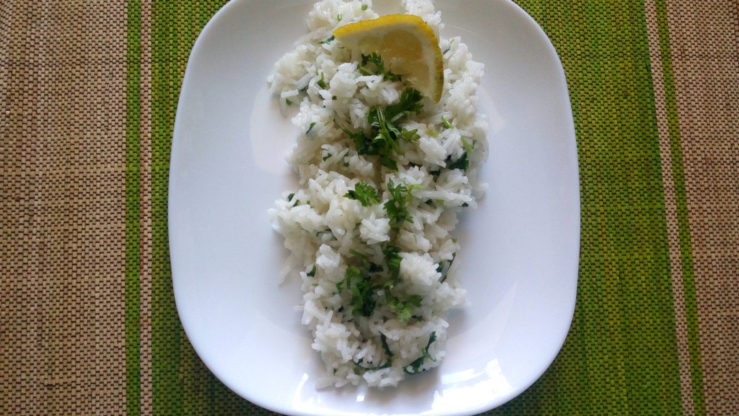 lemon dhania rice leotunapika