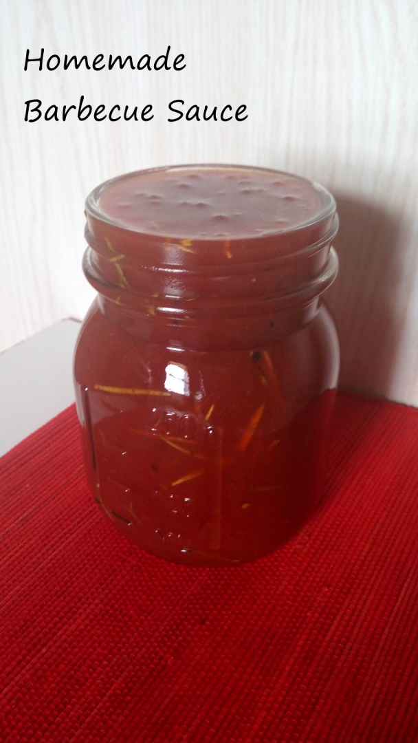 simple homemade barbecue sauce