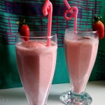 Strawberry Banana Milkshake