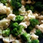 Blanching : Broccoli and Cauliflower