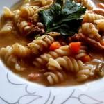 Kienyeji Chicken Noodle Soup