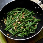 Garlic French Beans with Peanuts