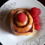 Raspberry Cinnamon Rolls