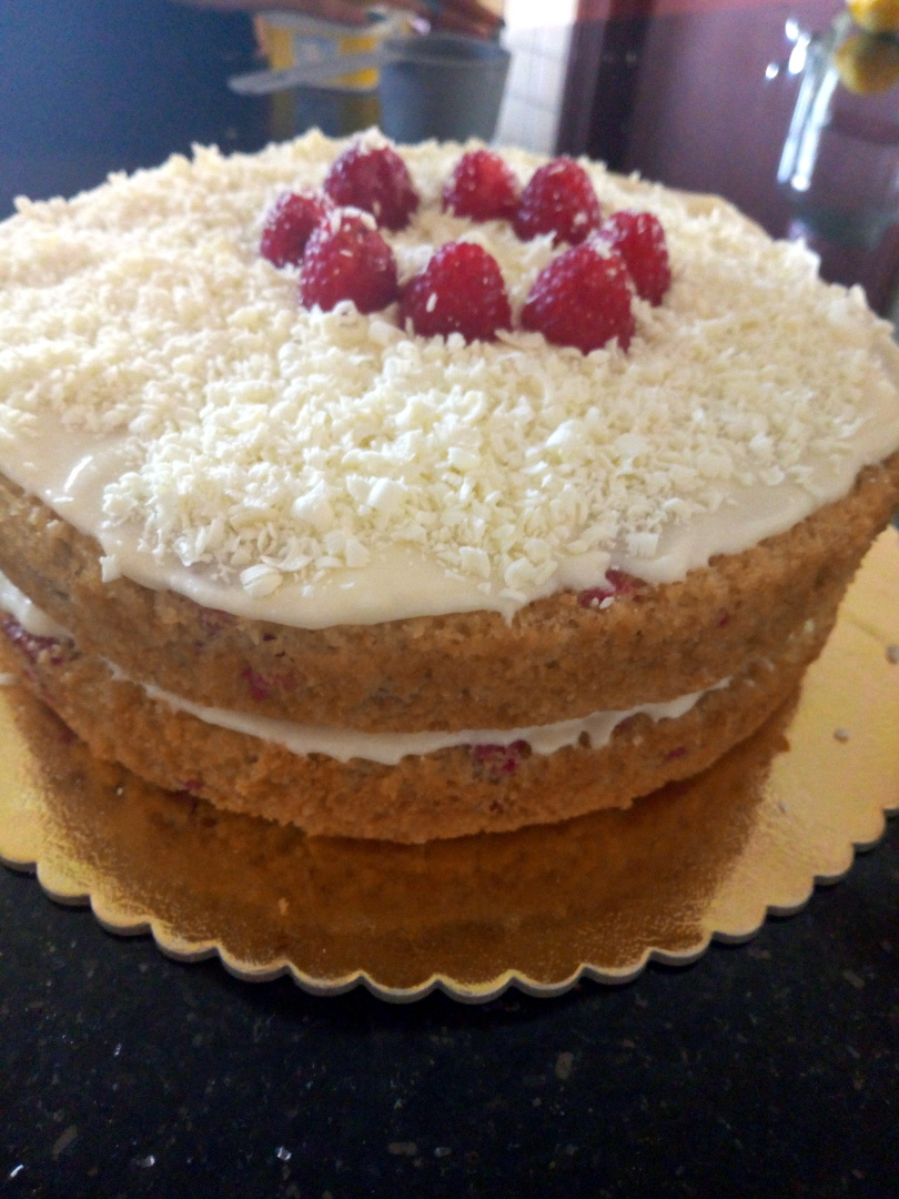 raspberry lemon cake leotunapika 9